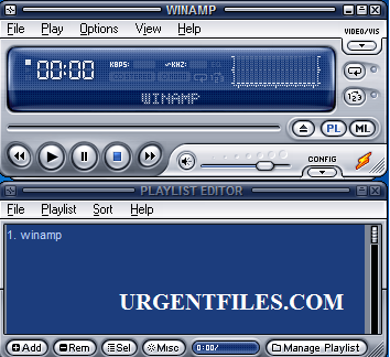 Playlist file remover winamp player